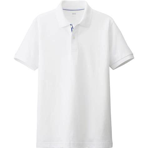 Uniqlo Pique Polo Shirt 2 uniqlo white pique line sleeve polo shirt for lyst