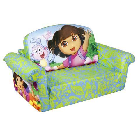 dora flip open sofa spin master marshmallow furniture flip open sofa dora