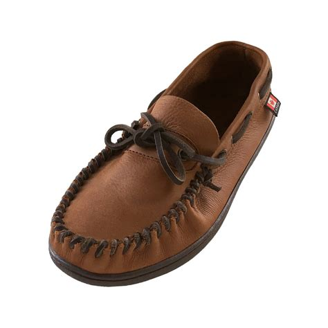 moccasins sneakers s wide width fit rubber sole genuine leather