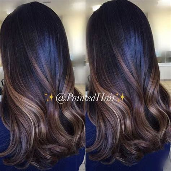 balayage highlights on dark brown hair best 20 ombre for dark hair ideas on pinterest