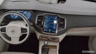 Volvo Xc90 Interior Pictures 2014 Volvo Xc90 Interior Classicnewcar Us
