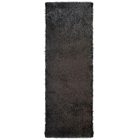 11 ft runner rug home decorators collection city sheen espresso 4 ft x 11 ft rug runner csheen411es the home