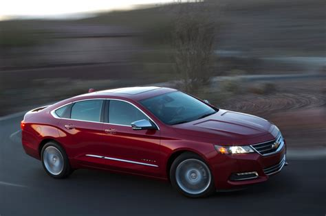 2014 chevy impala 0 60 mph performance test
