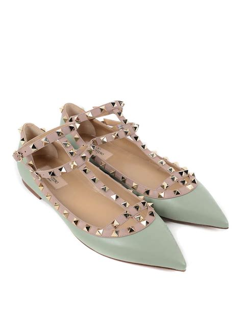 valentino shoes flat rockstud flats by valentino garavani flat shoes ikrix