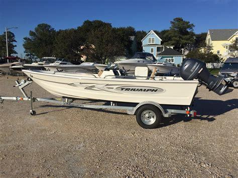 triumph boats dual console 2015 used triumph 170 dc170 dc dual console boat for sale