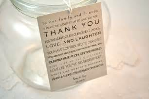 Wedding Favor Sayings by Wedding Favors Thank You Wedding Favors Wording