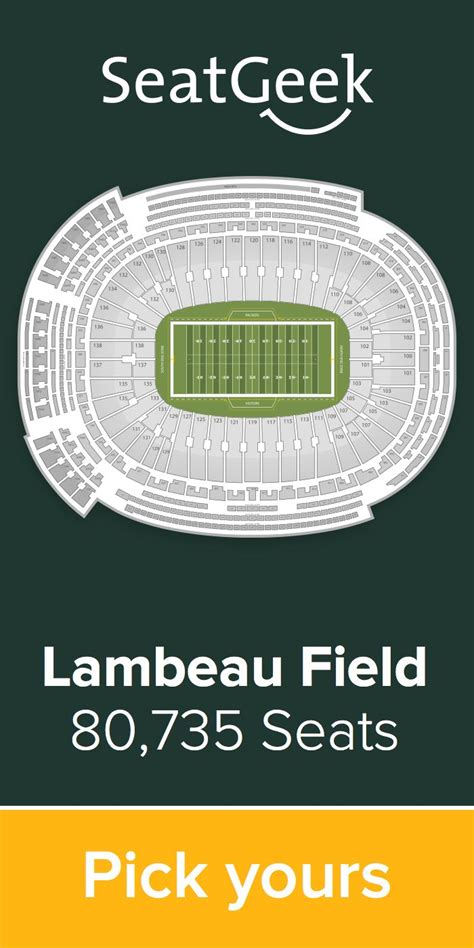 seatgeek green bay packers 1000 images about green bay packers on