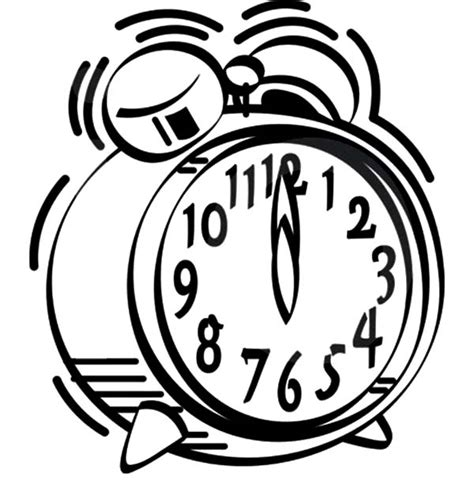 Alarm Clock Twelve O Clock Coloring Pages Coloring Sky Sound Of Coloring Pages