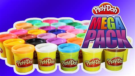 play doh pyramid play doh mega pack 36 cans colors