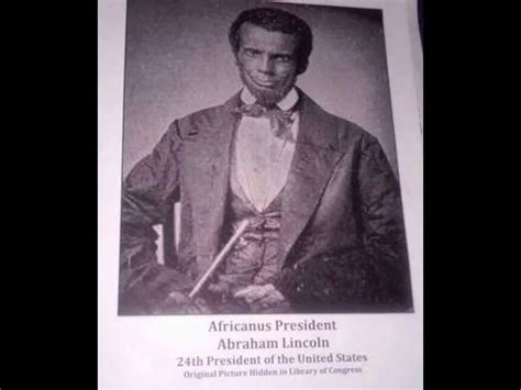 Black Of Abraham proof that abraham lincoln was a black