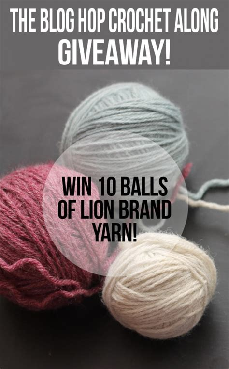 Yarn Giveaway - lion brand yarn giveaway whistle and ivy