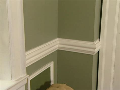 chair rail trim chair rail molding ideas homesfeed