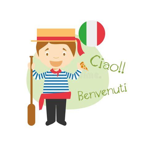 Imagenes De Hola En Italiano | personaje de dibujos animados que dice hola y la recepci 243 n