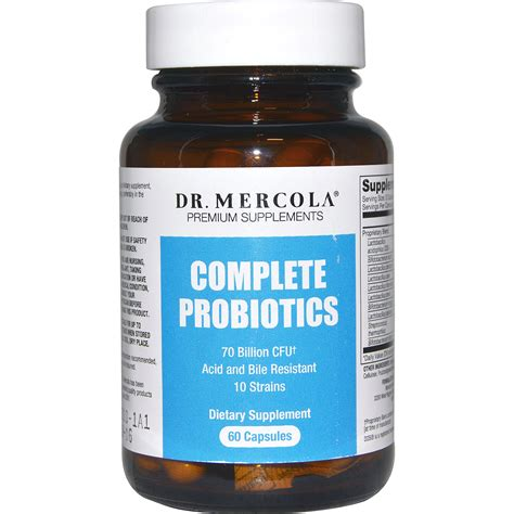 Suplemen Probiotik Dr Mercola Premium Supplements Complete Probiotics 60