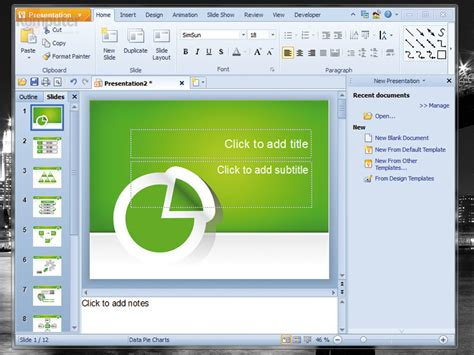 Kingsoft Presentation Standard 2012 8 0 3022 Download Kingsoft Presentation Free