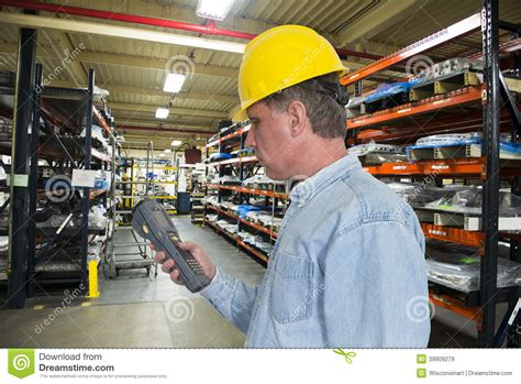 Factory Manager by Industrial Manufacturing Inventory Warehouse Worke Stock Photo Image 39909279