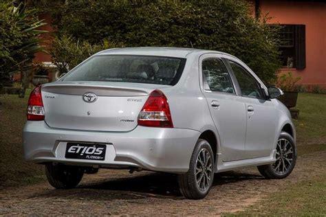 Toyota Etyos Toyota Etios Facelift Previewed Through Etios Platinum
