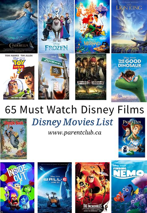 film studios disney 65 must watch disney films disney movies list