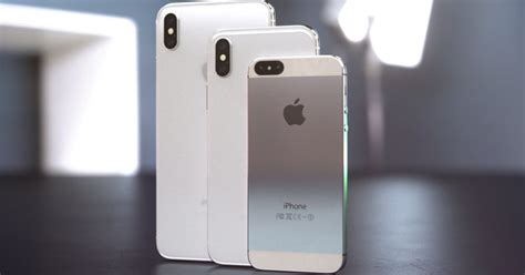 iphone xs y iphone xl el concepto que podr 237 a llegar en 2018