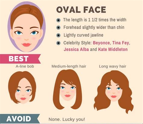 hair for certain face shapse how to hairstyle guide