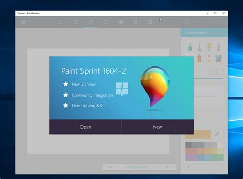 microsoft s redesigned paint app for windows 10 revealed noypigeeks