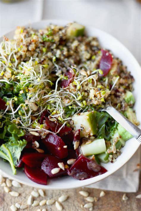 Detox Quinoa Salad Recipe by Detox Kale And Quinoa Salad Recipe Pickled Plum Food And