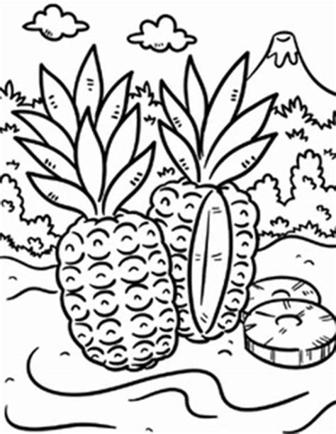 coloring pages tropical island how to draw tropical island