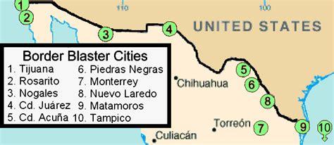 map us mexico border 2 border blaster
