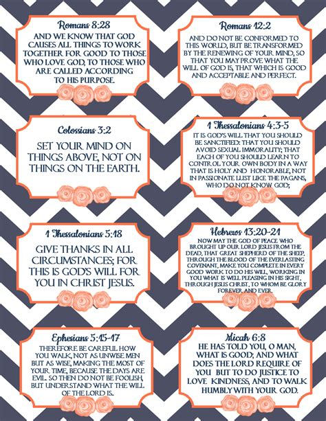 pretty scripture memory card templates free printable verse cards on god s will scripture memory