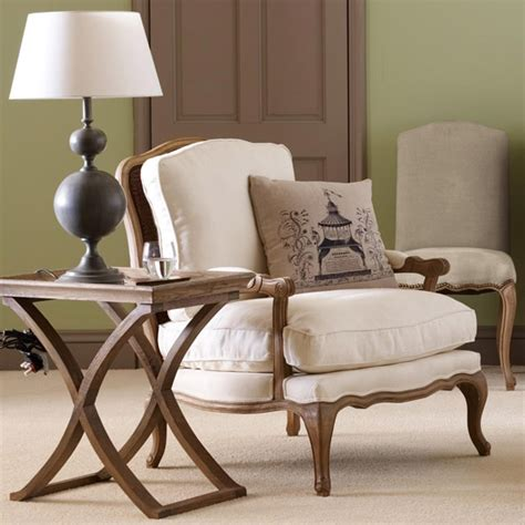 french style armchair chantal french style armchair oak frame oka