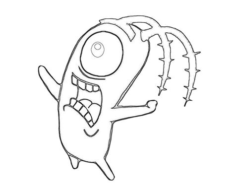 plankton coloring pages