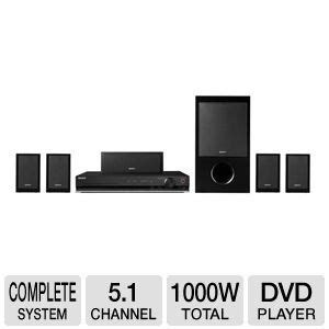 sony bravia 1000 watt 5 1 channel surround sound dvd home
