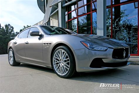 maserati ghibli modified maserati ghibli custom wheels tsw max 20x et tire size