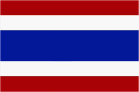 flags of the world red white blue horizontal flag of thailand britannica com