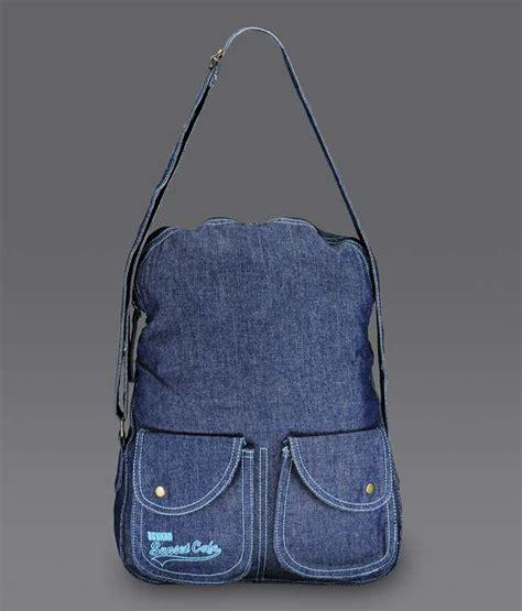 Denim Slingbag Deathnote spykar denim blue sling bag buy spykar denim blue sling bag at best prices in india on