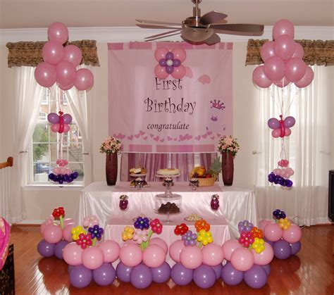 how to decorate a birthday party at home various choice birthday decoration for the best birthday