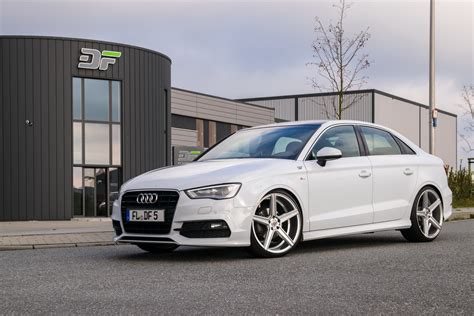 Audi Limousine A3 by Audi A3 Sedan Gets Tweaked By Df Automotive Carscoops