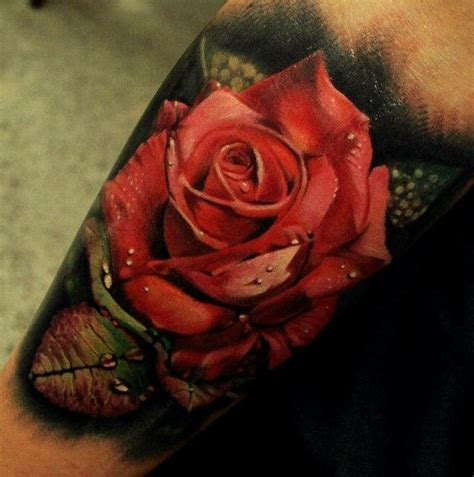 tattoo 3d rosas 3d red rose tattoo picture 3drose tattoo rose