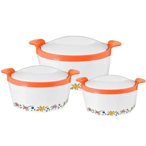 Insulated Serving Set 3pc pot set stainless steel insulated casserole food