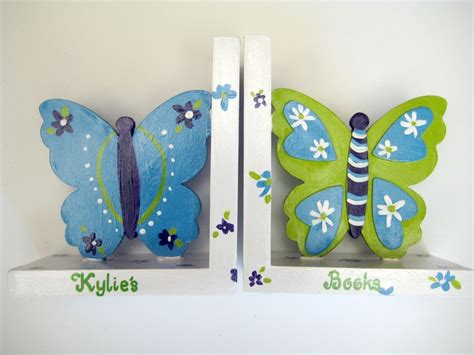 Nojo Beautiful Butterfly Comforter by Butterfly Bookends In Purple Turquoise Lime Green And