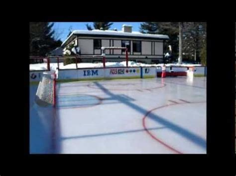 best backyard rink best backyard rink in qu 233 bec canada youtube