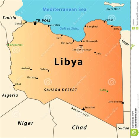 libya map eu condemns attacks on libya s monuments of cultural
