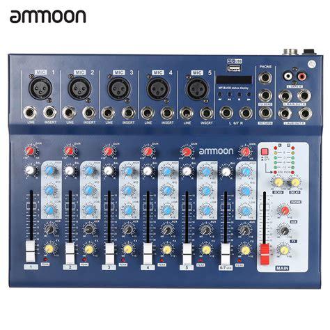 Mixer Equalizer usb audio mixer reviews shopping usb audio mixer