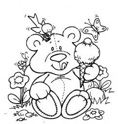 teddy bear coloring pages kids coloringpagesabc