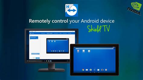 android teamviewer apk teamviewer remote controlling nvidia shield tv with android nougat app spot