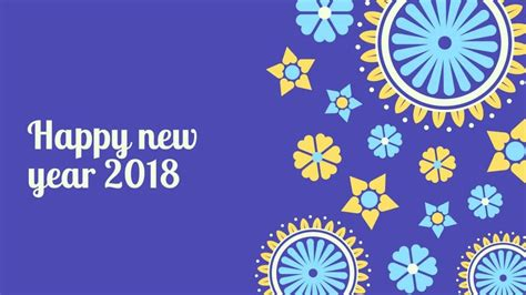 Happy New year 2018 Wallpapers Download Images, Pictures