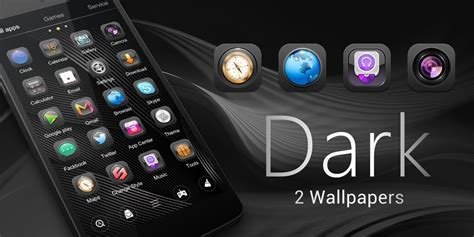 black themes for android free download dark go launcher theme free android theme download appraw