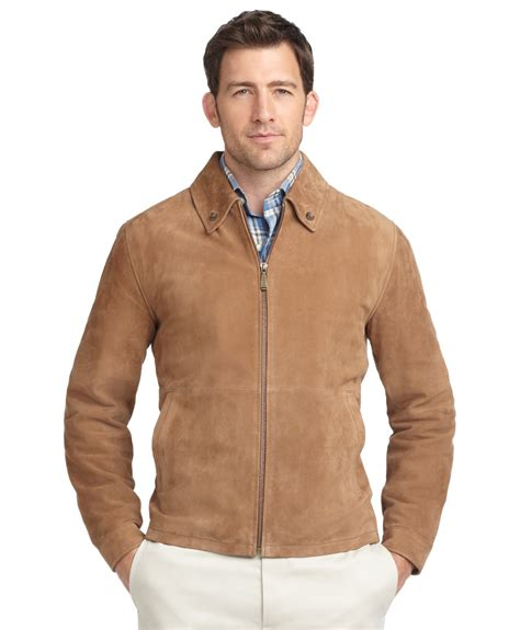 Jaket Suede Suede Jacket lyst brothers suede jacket in brown for