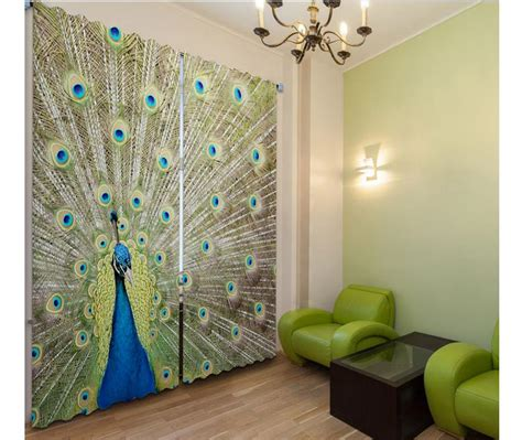 peacock kitchen curtains popular peacock curtains buy cheap peacock curtains lots