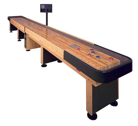 new used shuffleboard tables room guys